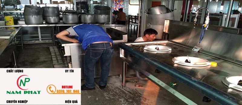Dịch vụ sửa chữa bếp gas công nghiệp