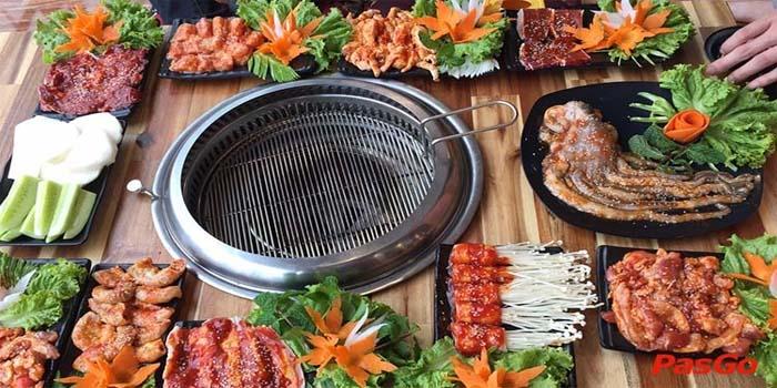 Thi công bếp nướng không khói tại bàn