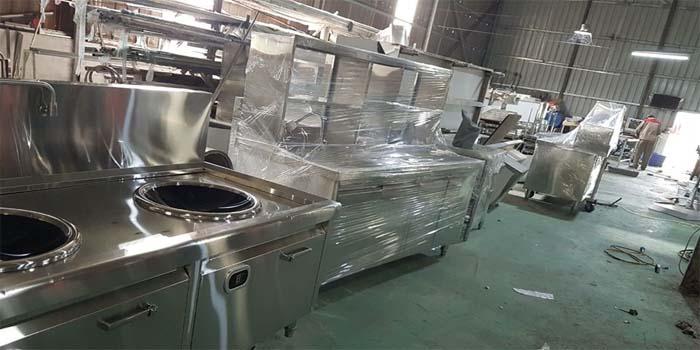Sản xuất trực tiếp quầy pha chế trà sữa tại Hà Nội